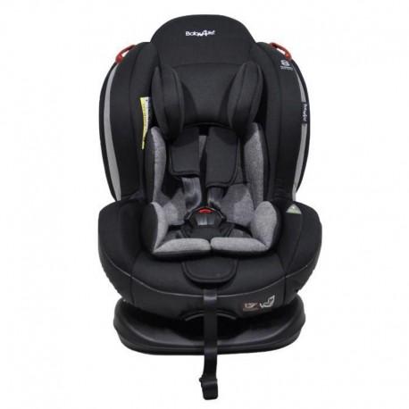 صندلی ماشین کودک تاج دار بی بی4لایف رنگ مشکی و طوسی Baby4life