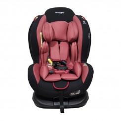 صندلی ماشین کودک ایزوفیکس تاج دار بی بی فورلایف رنگ قرمز Baby4life
