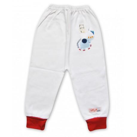 شلوار مچ دار سفید پسرانه فیل تاپ لاین Top Line - 1