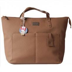 کیف و کوله پشتی لوئیس آنجل مدل شارلوت عسلی LouisAnjele