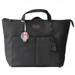 کیف و کوله پشتی مادر لوئیس آنجل مدل شارلوت مشکی LouisAnjele