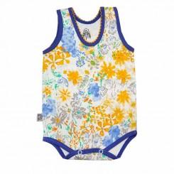 لباس نوزادی زیردکمه دار رکابی گل و ژور لیدولند Lido Land