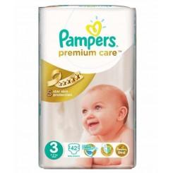خريد اينترنتي سيسموني نوزاد پوشک پمپرز لهستان ضدحساسیت جدید (سایز 3)  Pampers نوزادی، نی نی لازم فروشگاه اینترنتی سیسمونی