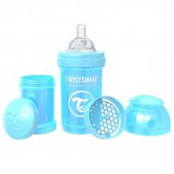 شیشه شیر تویست شیک 180 میل آبی صدفی Twistshake