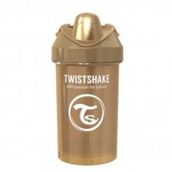 لیوان آبمیوه خوری تویست شیک 300 میل مسی صدفی Twistshake
