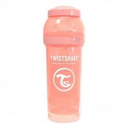شیشه شیر 260 میل تویست شیک هلویی Twistshake