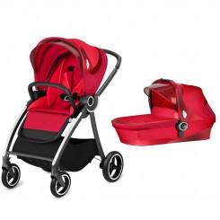 سرویس کالسکه و کریکات مدل Maris رنگ قرمز برند gb