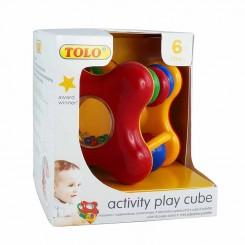 اسباب بازی تولو مکعب جغجغه ای Tolo