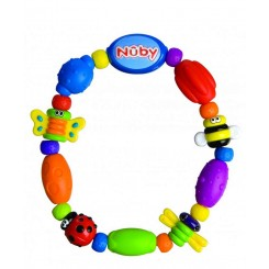 خريد اينترنتي سيسموني نوزاد دندانگیر حلقه ای نابی Nuby - 1 نوزادی، نی نی لازم فروشگاه اینترنتی سیسمونی
