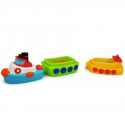اسباب بازی حمام کودک قایق آهنربایی برند تولو Tolo