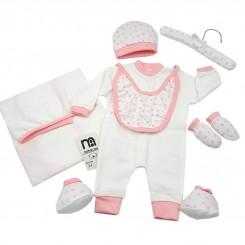 ست لباس بیمارستانی نوزاد دختر مادرکر طرح قلب Mothercare
