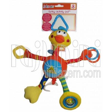 نخکش موزیکال اردک بلند جولی بی بی Jollybaby - 1