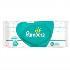 دستمال مرطوب ضدحساسیت درب دار پمپرز 56عددی Pampers