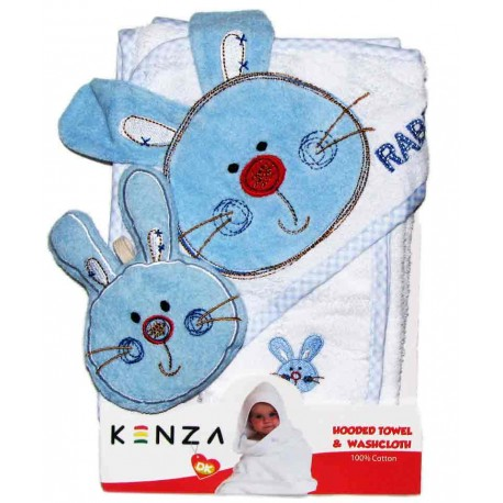 حوله سه تکه خرگوش گوشدار کنزا Kenza - 1