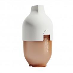 شیشه شیر پهن تمام سیلیکون هیروشی 160 میل سفید heorshe