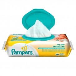 دستمال مرطوب ضدحساسیت Sensitive پمپرز 50 عددی Pamper's