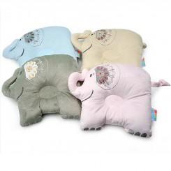 بالش فرم دهی سر نوزاد طرح فیل hello baby