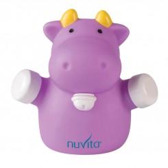 چراغ خواب اتاق کودک نوویتا گاو بنفش Nuvita