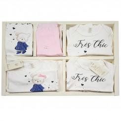 ست لباس نوزادی 19 تکه طرح خرس آبی دانالو Danaloo