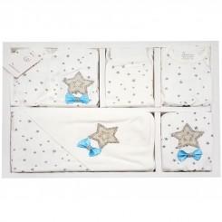 ست لباس بچگانه 13 تکه طرح ستاره طوسی دانالو Danaloo