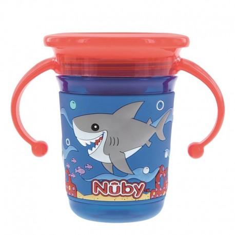 لیوان آبمیوه خوری دسته دار 360 درجه نابی Nuby