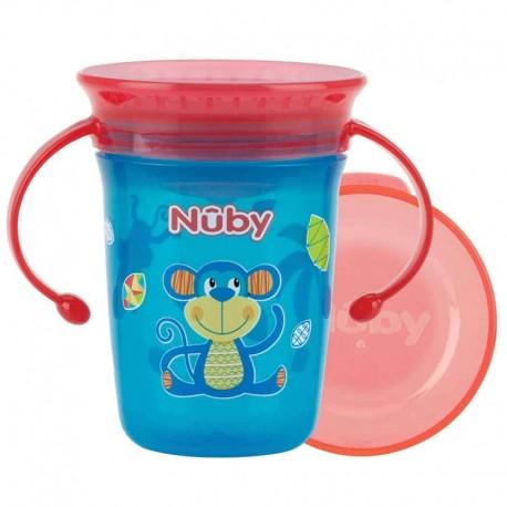 لیوان آموزشی دسته دار نابی 240 میل Nuby