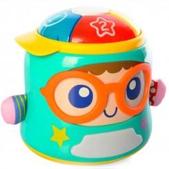 اسباب بازی موزیکال هلی تویز مدل پسرک عینکی Hola Toys