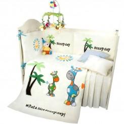 سرویس خواب 7 تکه نوزاد طرح روز آفتابی