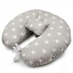 بالش شیردهی نوزاد طرح ستاره - طوسی ایس ایز Isiz