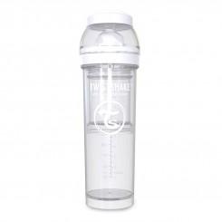 شیشه شیر طلقی ضدنفخ تویست شیک 330 میل سفید Twistshake