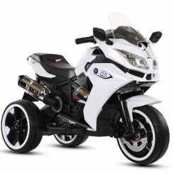 موتور سه چرخ شارژی کودک سفید