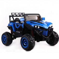 ماشین شارژی کودک مدل جیپ آبی