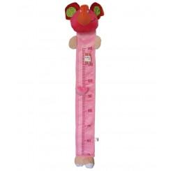 چارت اندازه گیری قد کودک پولیشی فیل صورتی کنزا Kenza