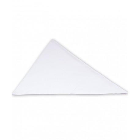 روسری سفید ساده تاپ لاین Top Line