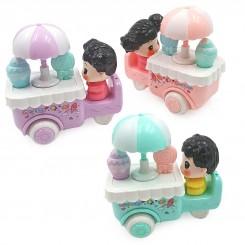 اسباب بازی کوکی مدل ماشین بستنی فروشی