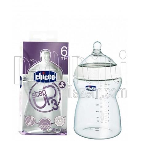 شیشه شیر Step Up3 330ml چیکو Chicco - 1