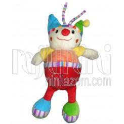 عروسک نخکش موزیکال دلقک