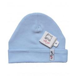خريد اينترنتي سيسموني نوزاد کلاه استرچ (آبی) تاپ لاین Top Line - 1 نوزادی، نی نی لازم فروشگاه اینترنتی سیسمونی