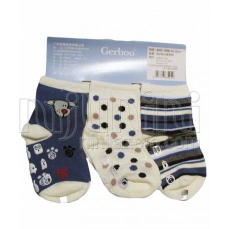 جوراب 3جفتی استپ دار کارترز Carters - 1