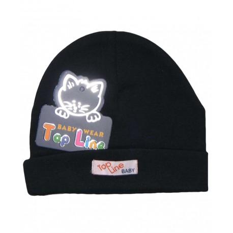 کلاه استرچ (سرمه ای) تاپ لاین Top Line - 1