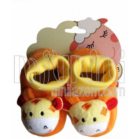 پاپوش نوزاد گاو نارنجی کارترز Carters - 1