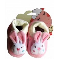 خريد اينترنتي سيسموني نوزاد پاپوش نوزاد خرگوش صورتی کارترز Carters نوزادی، نی نی لازم فروشگاه اینترنتی سیسمونی
