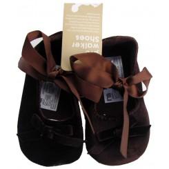 کفش جیر قهوه ای دخترانه مادرکر Mothercare