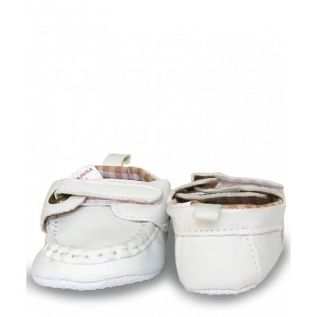 کفش کالج پسرانه سفید Mothercare - 1
