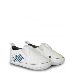 خريد اينترنتي سيسموني نوزاد کفش سفید بغل کش دار مکس Mexx نوزادی، نی نی لازم فروشگاه اینترنتی سیسمونی
