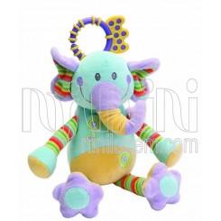 خريد اينترنتي سيسموني نوزاد آویز جغجغه ای فیل جولی بی بی Jollybaby نوزادی، نی نی لازم فروشگاه اینترنتی سیسمونی