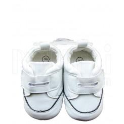 کفش پسرانه سفید چسبی مکس Mexx