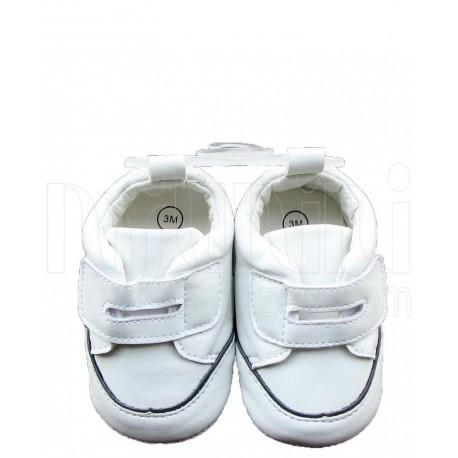 کفش پسرانه سفید چسبی مکس Mexx - 1