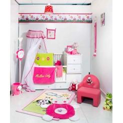 خريد اينترنتي سيسموني نوزاد فرش اتاق کودک (مدل لیدی)پارکادو Parkado نوزادی، نی نی لازم فروشگاه اینترنتی سیسمونی