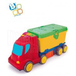 خريد اينترنتي سيسموني نوزاد کامیون و ابزار مکانیکی بلوباکس Blue Box نوزادی، نی نی لازم فروشگاه اینترنتی سیسمونی